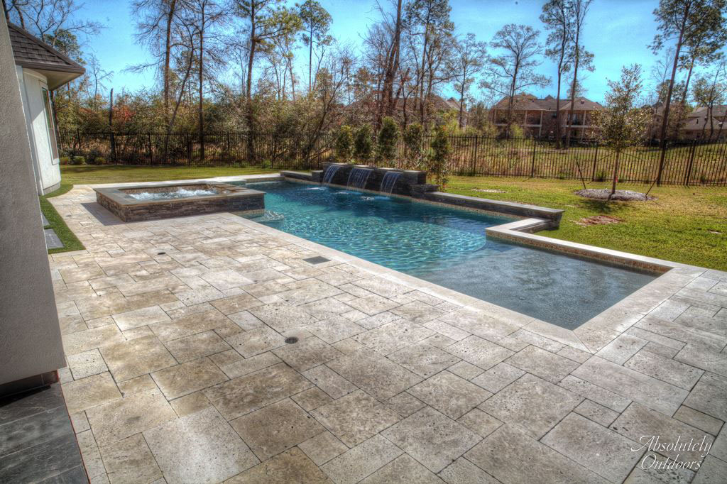 Pool And Waterscape Design Gallery The Woodlands Houston