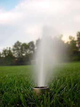 irrigation and water conservation