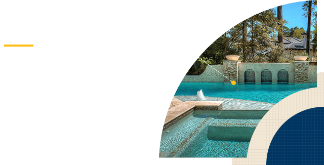 Landscape Design The Woodlands - Pool Design