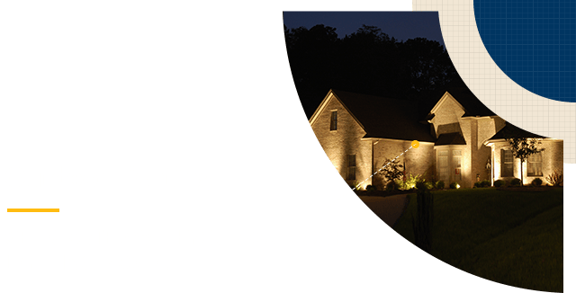 Landscape Design The Woodlands - Outdoor Lighting