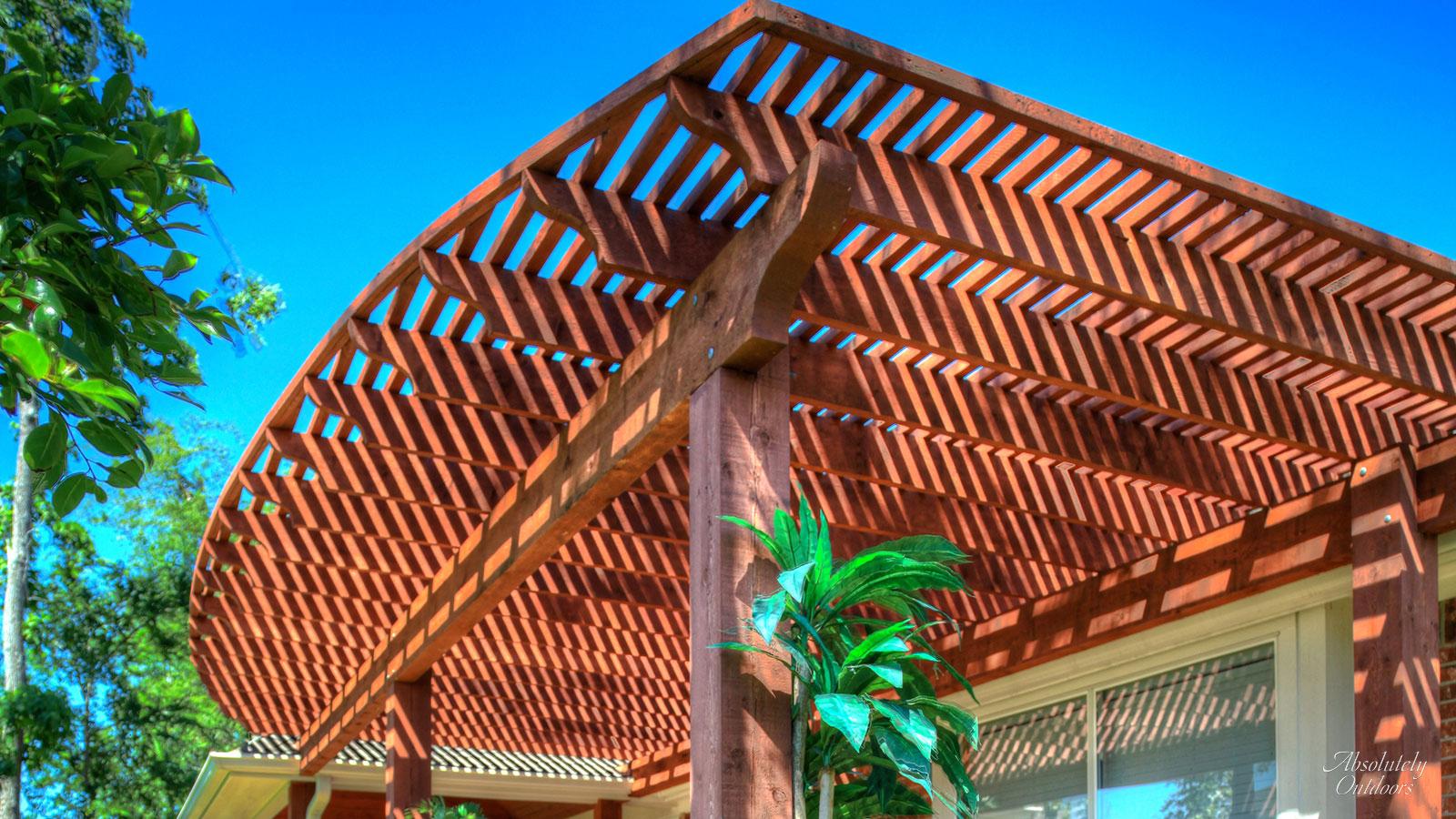 The Woodlands Custom Landscape Design Outdoors