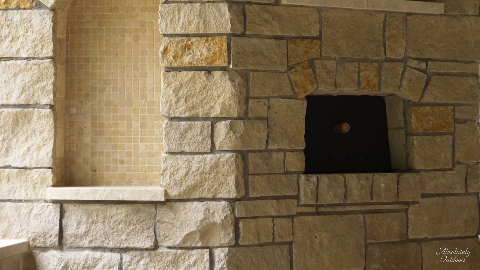 The Woodlands Custom Pizza Oven Architectural Design
