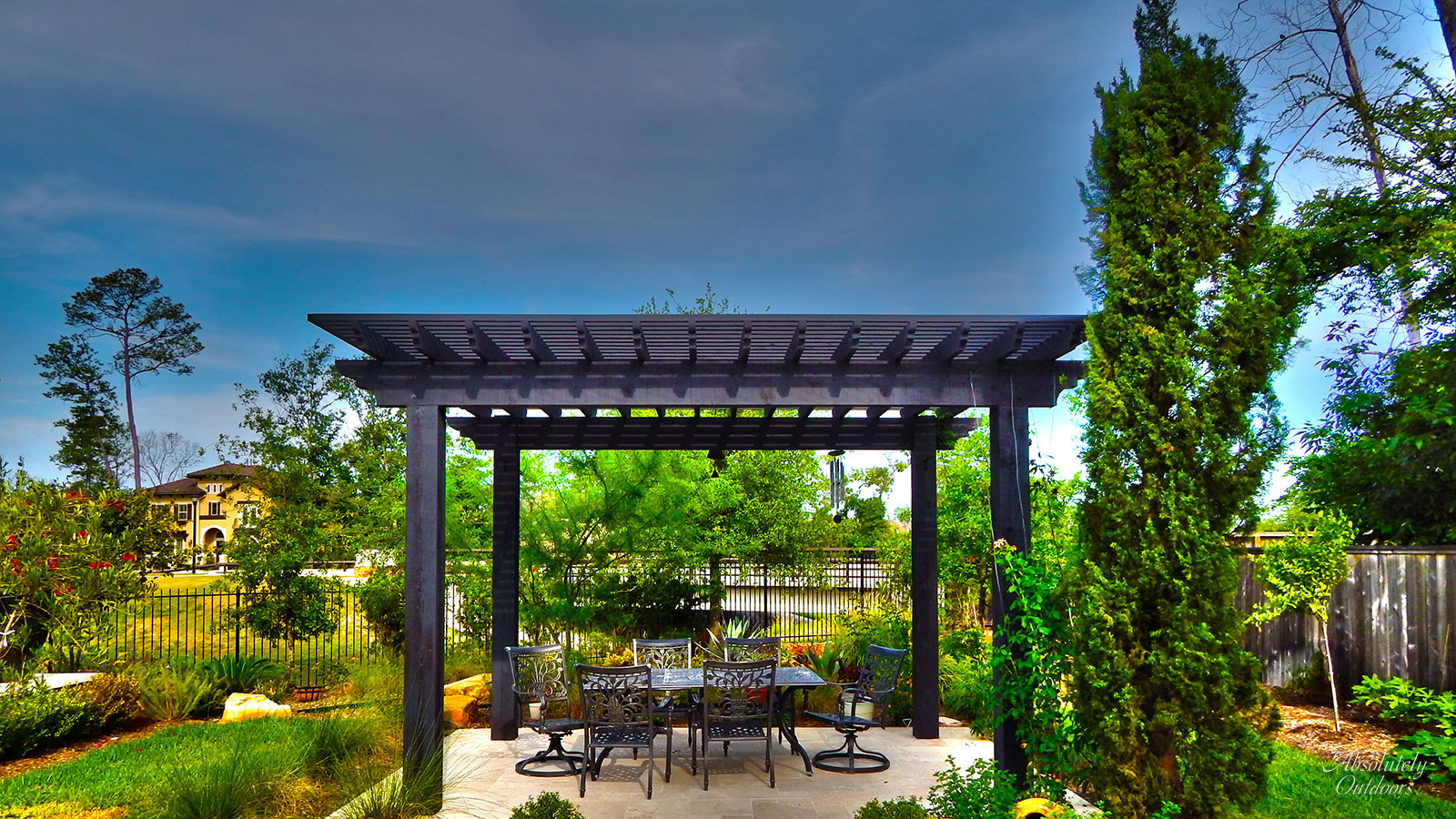 The Woodlands Custom Landscape Design