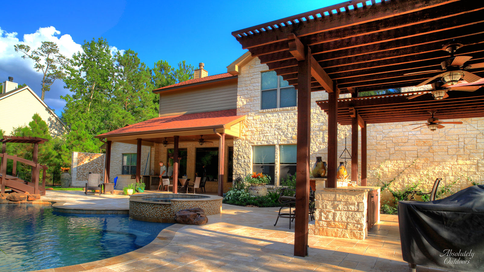 Houston Custom Pergola