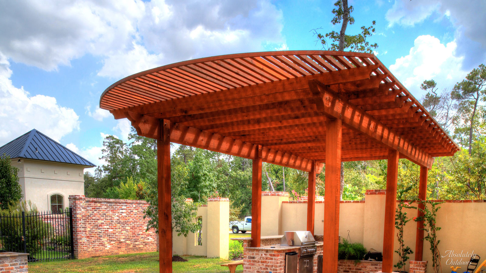 The Woodlands TX Custom Pergola