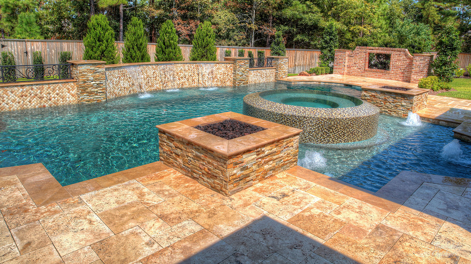 Tomball TX Custom Pool Architectural Design