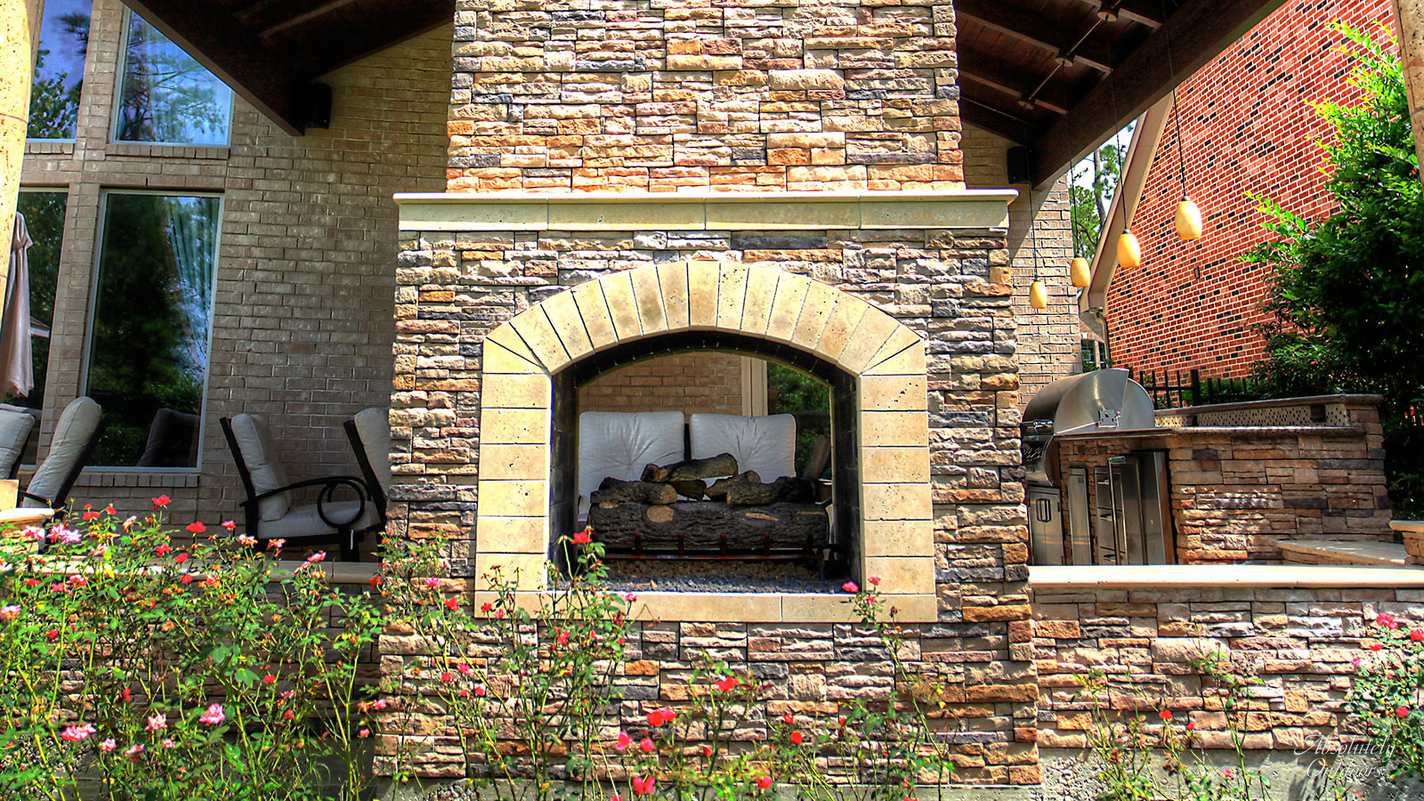 Tomball Custom Fireplace Architectural Design