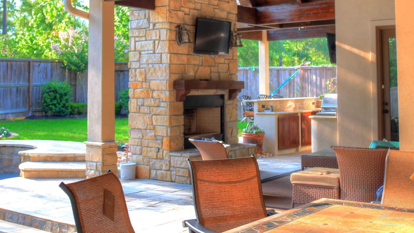 Tomball Fireplace Architectural Design