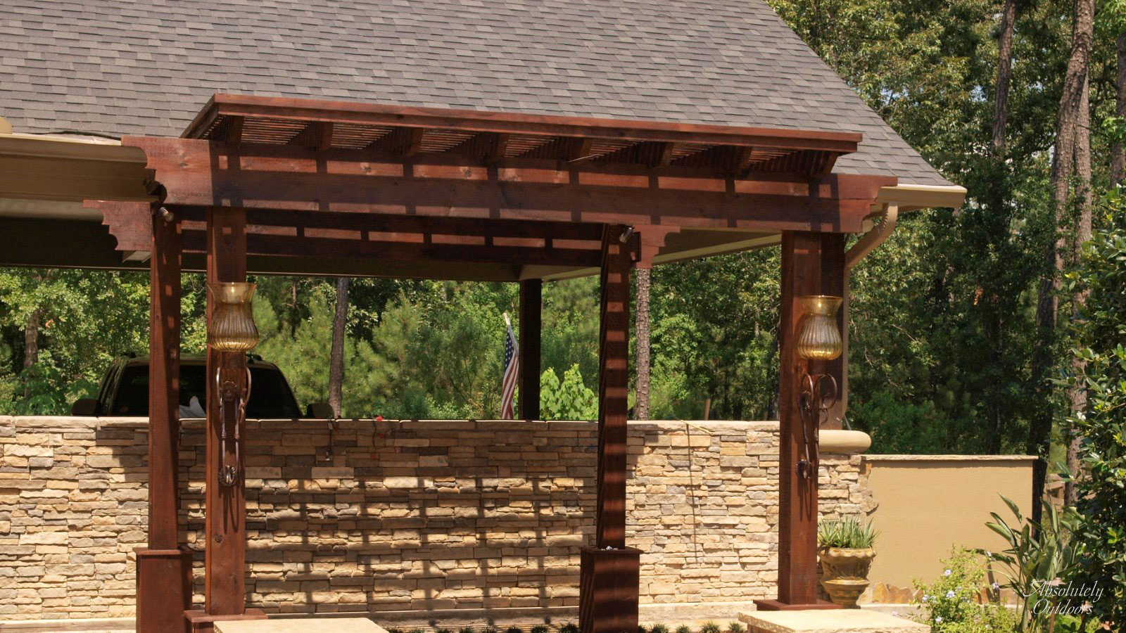Tomball Pergola The Woodlands