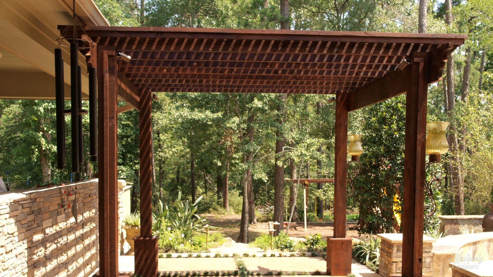 Tomball Custom Pergola The Woodlands