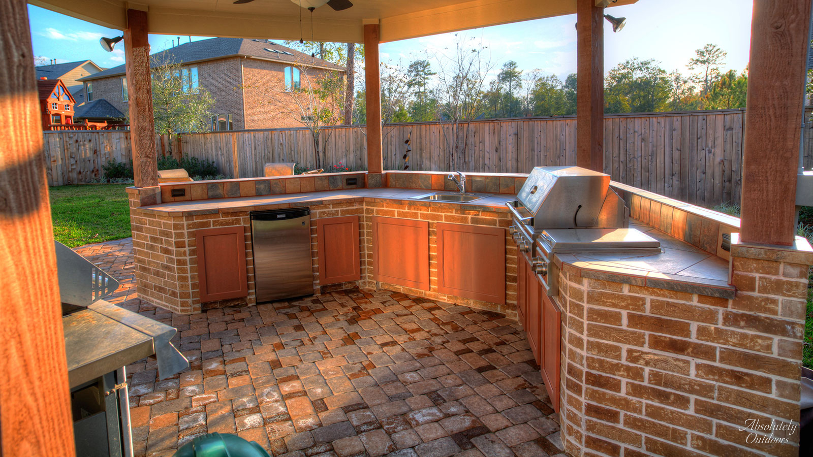 Benefits of An Outdoor Kitchen, Absolutely Outdoors, Outdoor Living, The Woodlands, TX