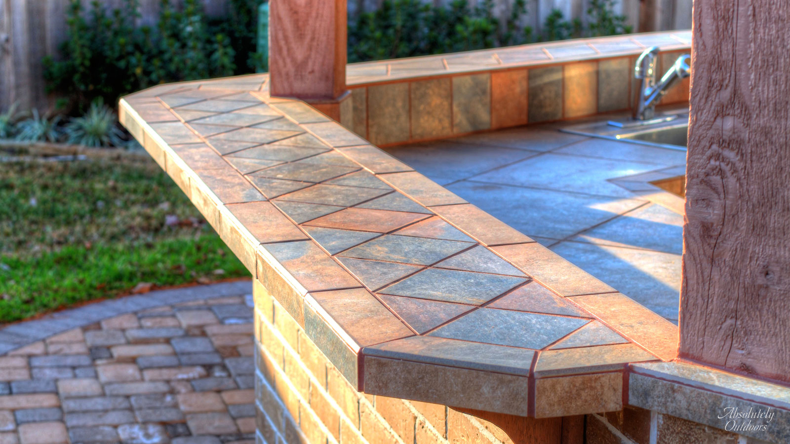 The Woodlands Custom Landscape Design Tile